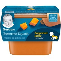 Gerber 1st Foods Baby Food Butternut Squash - 2oz (2ct)