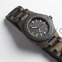Handmade Wood Watch, Black Sandalwood Ebony, Unique, No two are the same, Minimalist, Gift, Present, Anniversary, High Quality, Wooden Watch