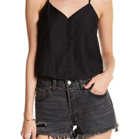 CAD | Button Front Cami | Nordstrom Rack