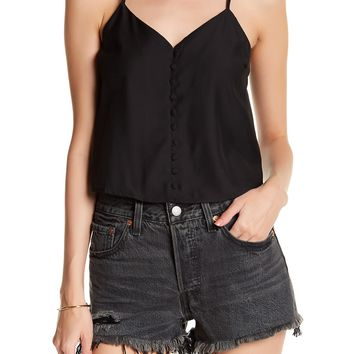 CAD   Button Front Cami   Nordstrom Rack