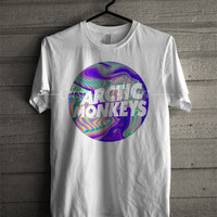 Arctic Monkeys logo t shirt music craze -5wND Unisex T- Shirt For Man And Woman / T-Shirt / Custom T-Shirt