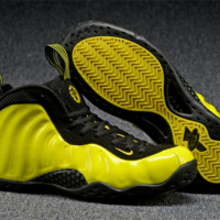 Nike Air Foamposite One Yellow/black Sneaker