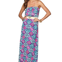 Marlisa Strapless Maxi Dress - Lilly Pulitzer