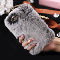 Grey Poof Phone Case For All iPhone + All Samsung 2017
