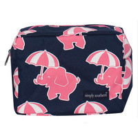 Simply Southern Cosmetic Bag - Elephant
