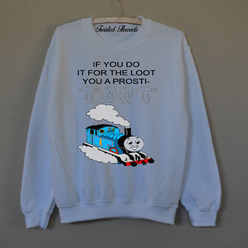 Do it for the loot Crew neck