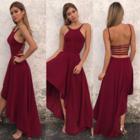 Strap Backless Sexy Dress