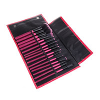 16Pcs Makeup Brushes Kit Professional Cosmetic Make Up Set + Pouch H10075 = 1946499268