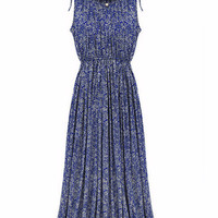 Fit and Flare Ankle-Length Dress