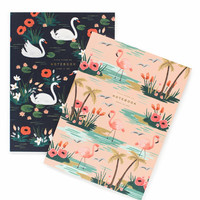 rifle paper co. | birds of a feather notebook set