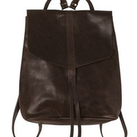 Raven and Lily Yami Dark Brown Backpack
