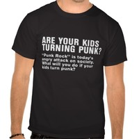 are your kids turning punk? tee shirts
