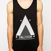 New Look Tank with Oblivion Print