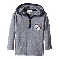Pumpkin Patch Kids Space Dyed Hooded Tee (Infant) Insignia Blue - Zappos.com Free Shipping BOTH Ways