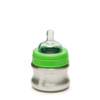 Klean Kanteen 5Oz Slow Flow Stainless Steel Baby Bottle Brushed Stainless One Size For Men 23634314001