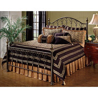 1332BKR Huntley Bed Set - King - w/Rails