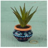 Blue Pant In Pot By Natural Life