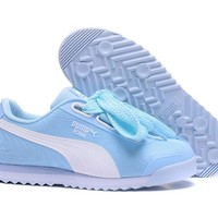PUMA Roma TK Graphic Sneakers Women Bow Casual Sport Shoes