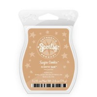 Scentsy, Sugar Cookie, Wickless Candle Tart Warmer Wax 3.2 Fl Oz, 8 Squares