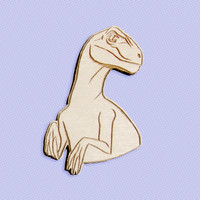 Raptor brooch