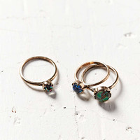 Gemstone Ring Pack - Urban Outfitters