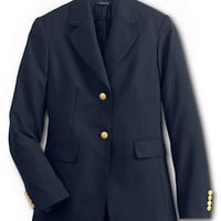 School Uniform Hopsack Blazer from Lands' End