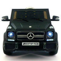 MERCEDES BENZ G65 RIDE-ON TOY CAR WITH PARENTAL REMOTE |  BLACK MATTE