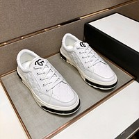 Gucci 2021Men Fashion Boots fashionable Casual leather Breathable Sneakers Running Shoes09070cc