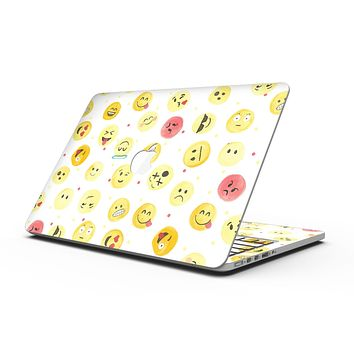 The All Over Emoji Pattern - MacBook Pro with Retina Display Full-Coverage Skin Kit