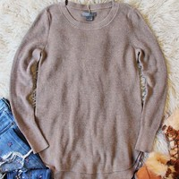 Everyday Layering Sweater in Sand