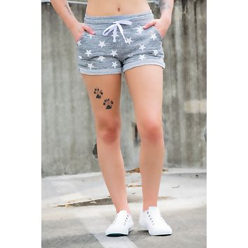 Gray Star shorts