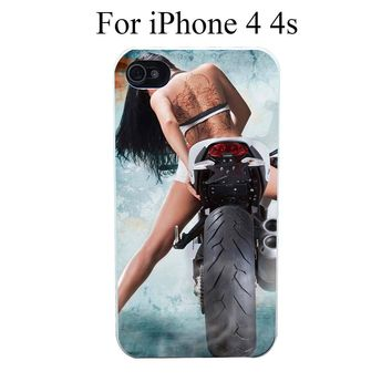 Biker Cell Case Cover for iPhone