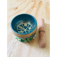 Yoga Singing Bowl for  Peace Sound Therapy Meditation Copper