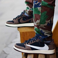 Nike Air Jordan 1 Low Men's and Women's Sneakers Shoes