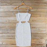 August Stripe Dress