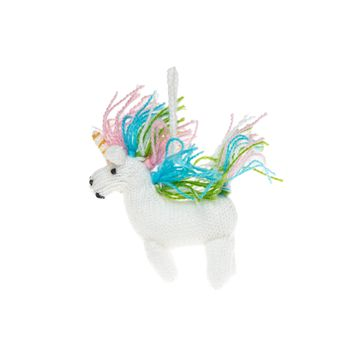 Unicorn Knitted Ornament