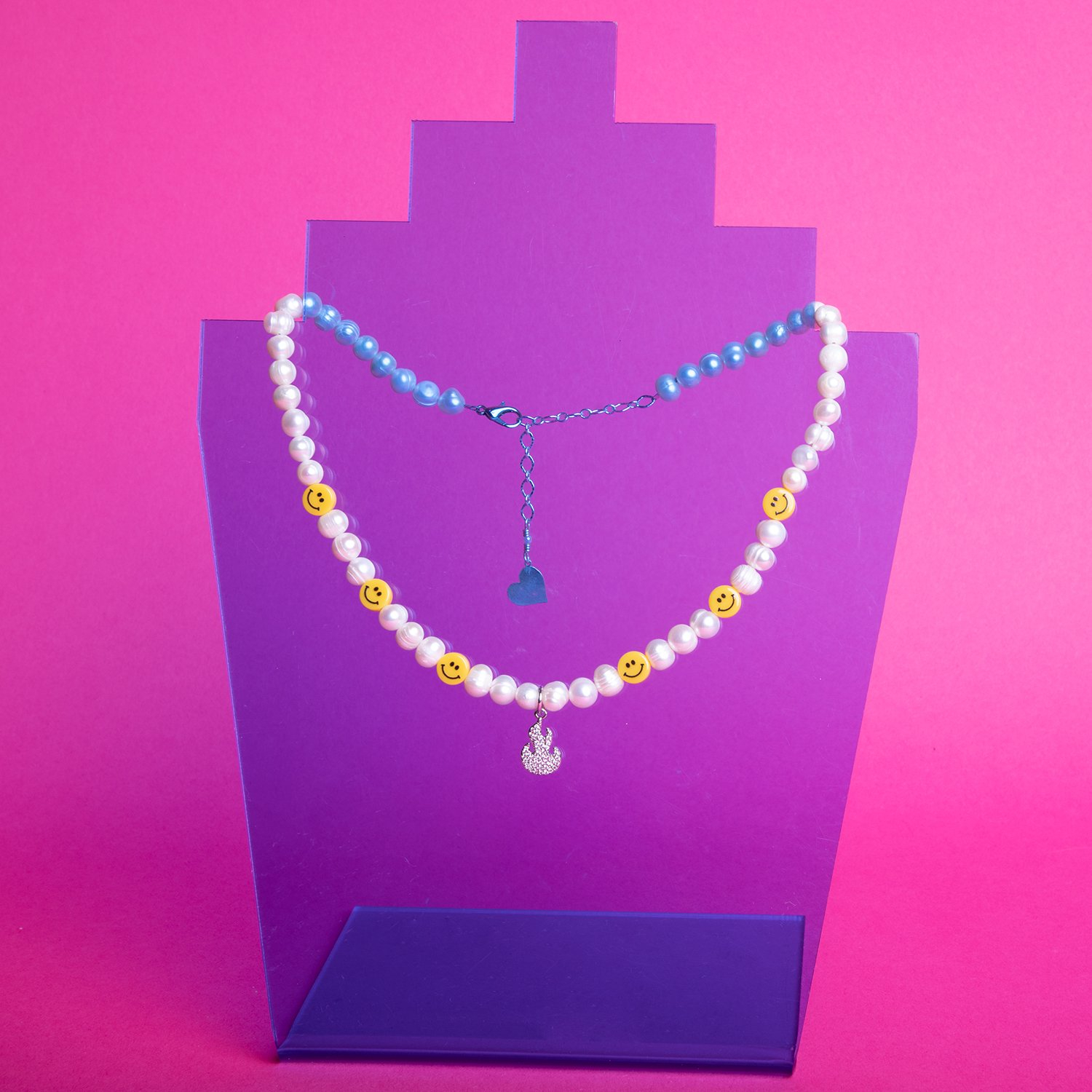Image of Pearl Hot 'n Happy Necklace
