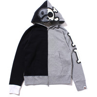 MILO BONE GLOW IN THE DARK ZIP HOODIE /AP