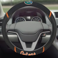 FANMATS University of Florida Gators Steering Wheel Cover Embroidered