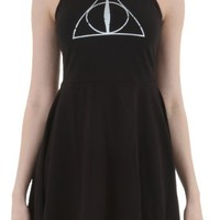 Harry Potter Deathly Hallows Skater Dress