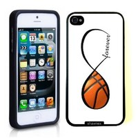 SudysAccessories Basketball Forever Basketball Infinity Forever Thinshell Case Protective iPhone 5 Case iphone 5S Case