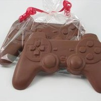 Electronic game player gift of Solid Milk Chocolate Candy Game Controller for Adults & Children:Amazon:Grocery & Gourmet Food