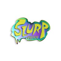 Slurp Juice Anodized Pin