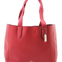 DERBY TOTE IN PEBBLE LEATHER COACH bag