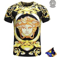 Versace Fashion Casual Shirt Top Tee-114