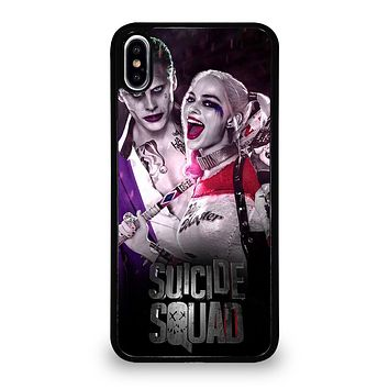 HARLEY QUINN SUICIDE SQUAD JOKER iPhone X / XS Case
