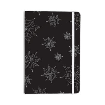 "KESS Original ""Mini Webs Black"" Everything Notebook"