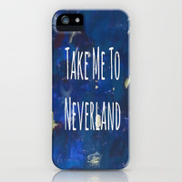 Take Me To Neverland   Galaxy iPhone & iPod Case by Sarah Hinds