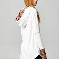 Play On Patterns Hoodie (Ivory) - Piace Boutique