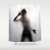 Woman Shadow Silhouette Shower Curtain by DejaLiyah | Society6